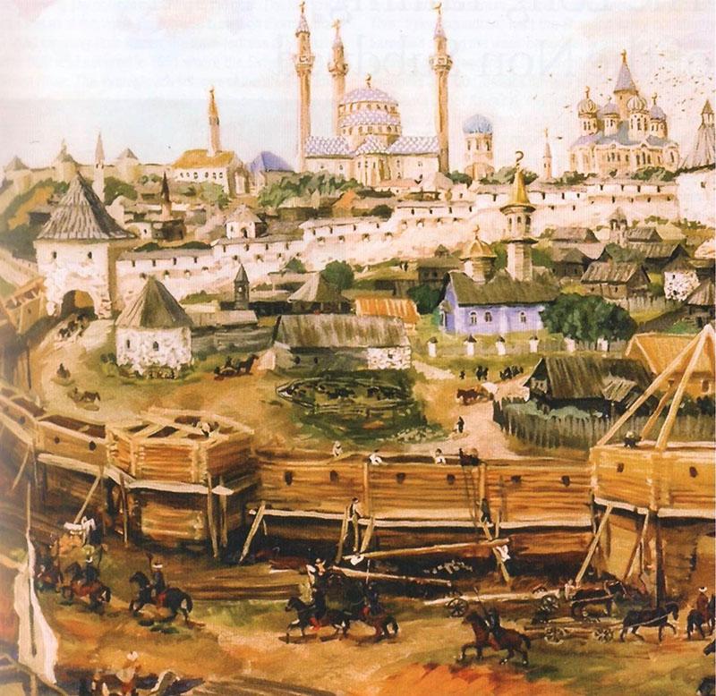 16. Asırda Kazan