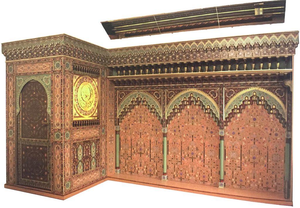 Fes Kayrevan caminde 14. asırdan Kalma Su Saatinin Rekonstrüksiyonu ( İstanbul Bilim Ve Teknoloji Tarihi Müzesi- İstanbul).