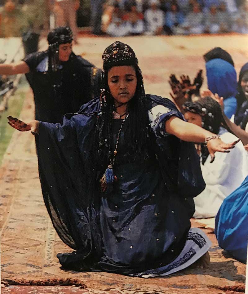Guedra dansı