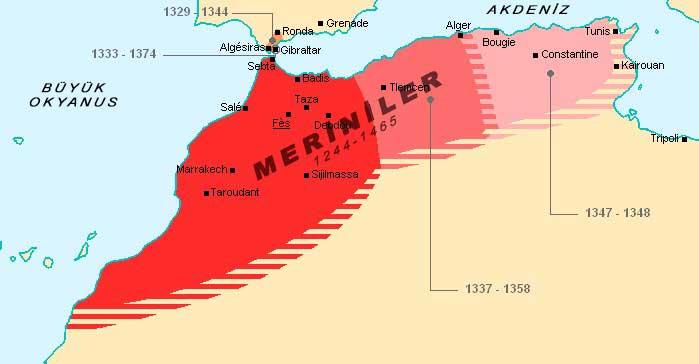 Meriniler, 1244- 1465