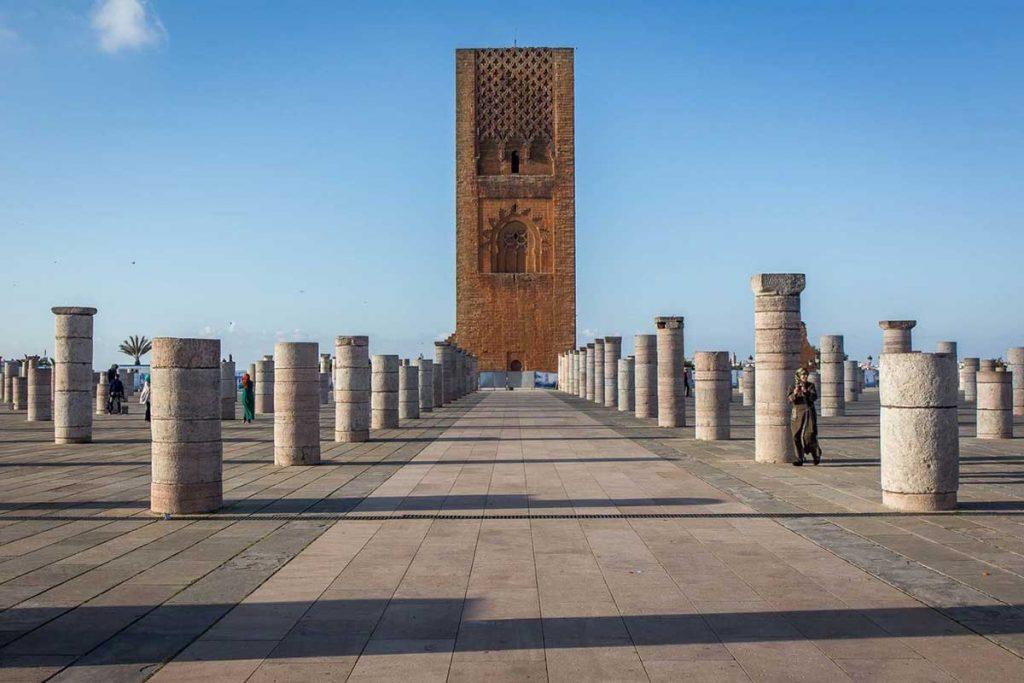 Rabat, Hasan Kulesi