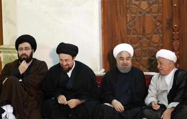 Muhalif mollalar; ……,Hasan Humeyni,  Ruhani ve Rafsancani