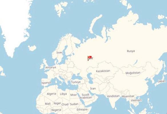 Harita Başkırdistan