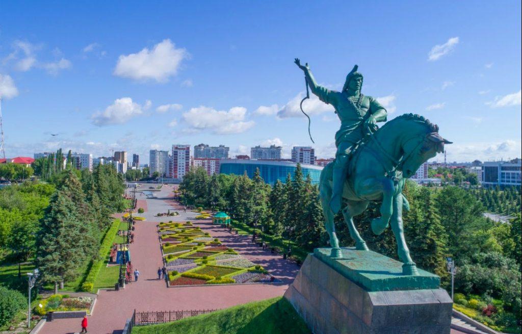 Ufa'nın Sembolü Salavat Yulayev Anıtı