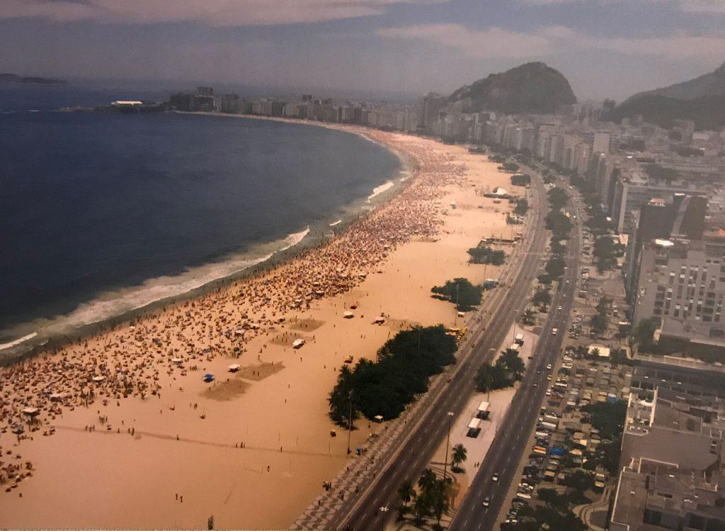 2006 yılında Kaldığım otelden Capo Capona Plajı Rio de Janerio