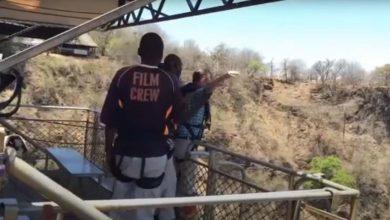 Zambiya Bungee Jumping