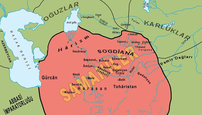 10. yüzyılda Samaniler