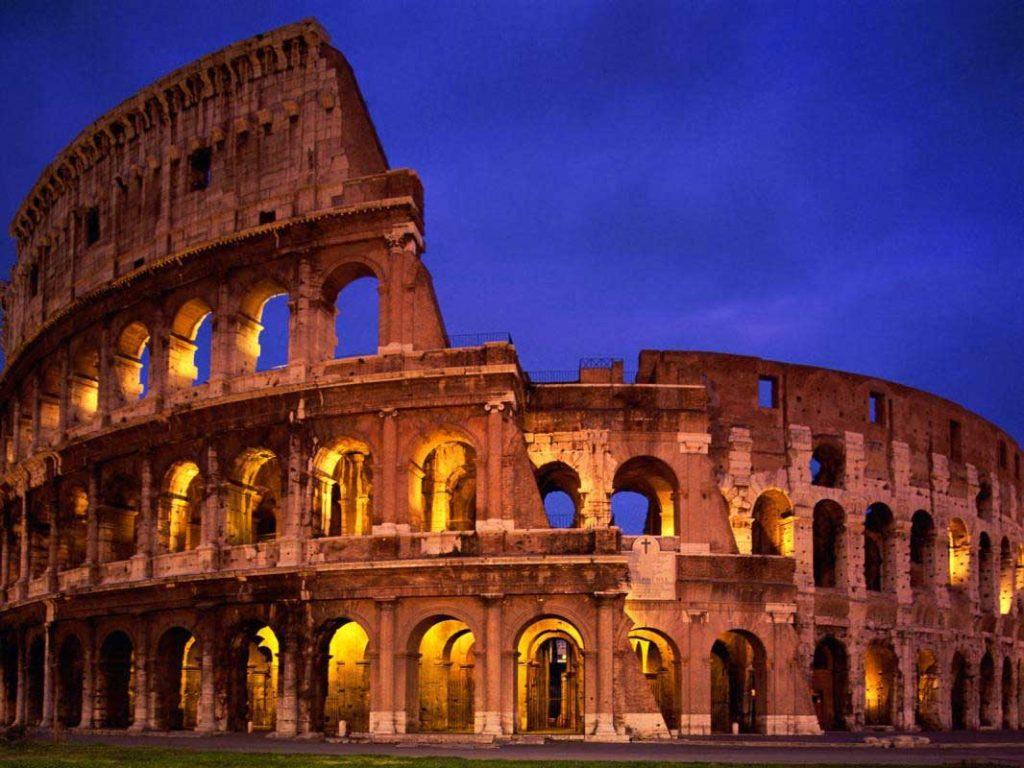 Antik Roma'dan kalma Arena