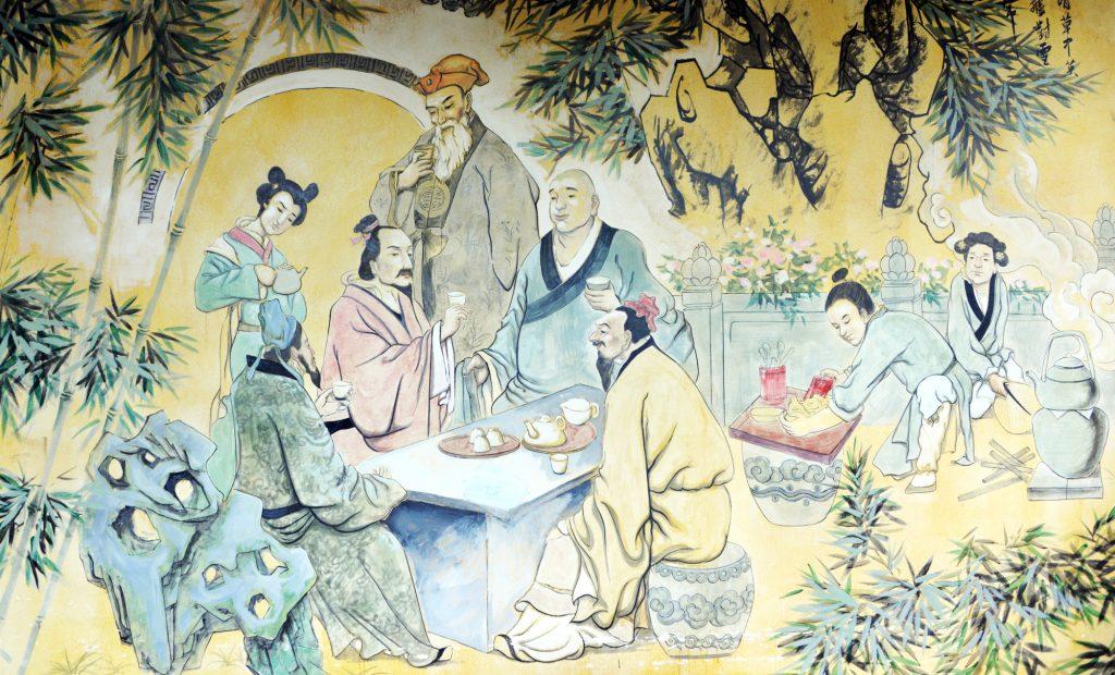 Şair, Filozof, Keşiş ve Çay