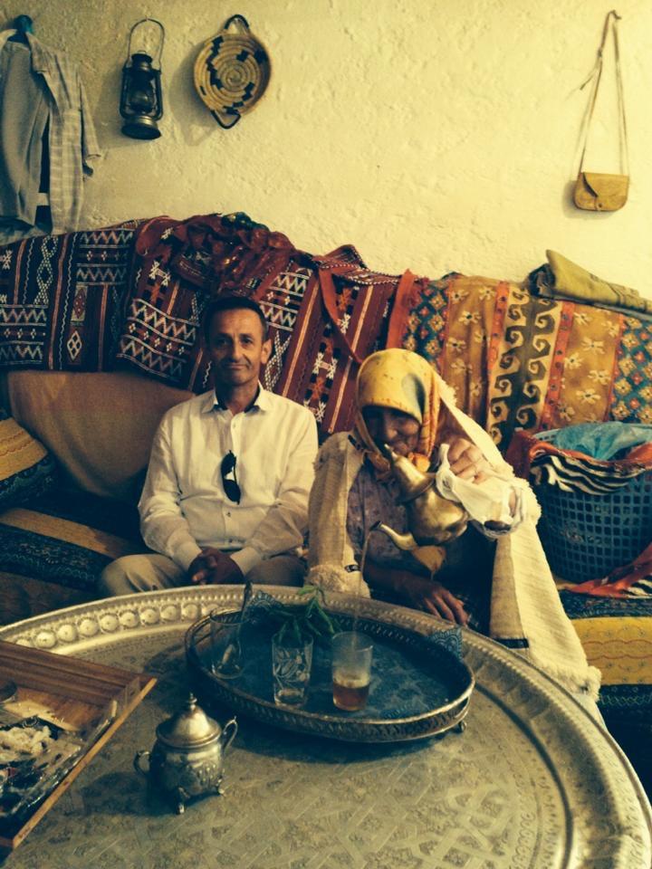 Fas Atlas Dağlarında Nane çayı
